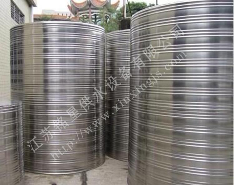 铭星不锈钢圆柱形水箱有哪些规格型号?