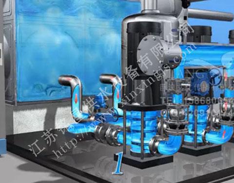 增压装置,变频调速泵组,出水压力传感器,出水电接点压力表,气压水罐