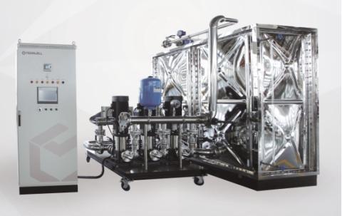 mxwx系列箱式无负压供水设备主要由进水压力传感器,进水电接点